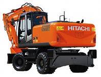 Аренда колесного экскаватора Hitachi zx 210 w