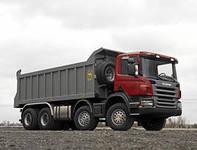 самосвал в аренду Scania 25 куб.