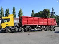 самосвал в аренду Scania полуприцеп