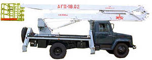 аренда автовышки на базе ГАЗ АГП-18.01 (ПСС-121.18) 18 м